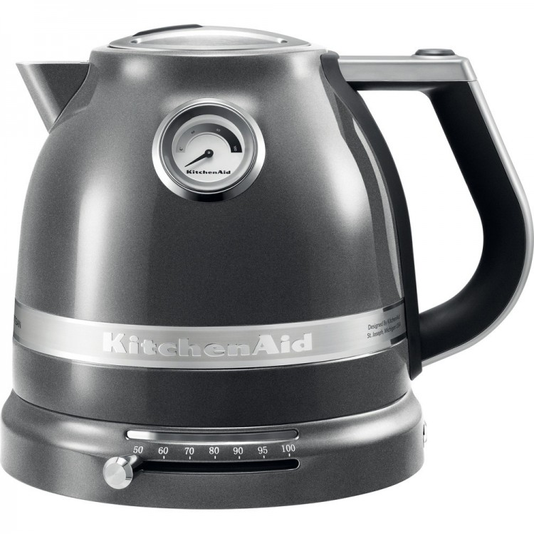 KITCHENAID Artisan 1.5L Kettle MEDALLION SILVER | 5KEK1522BMS
