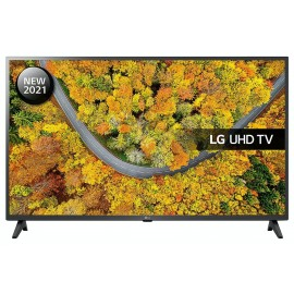 """LG UP75 43"""" 4K Ultra HD HDR Smart TV 