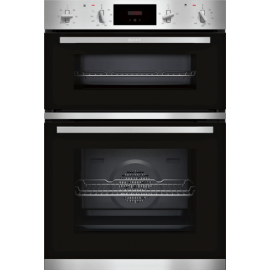 NEFF N 30 Built-in Double Oven STAINLESS STEEL | U1GCC0AN0B