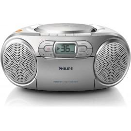 PHILIPS Portable Stereo Radio CD Cassette Player | AZ127/05
