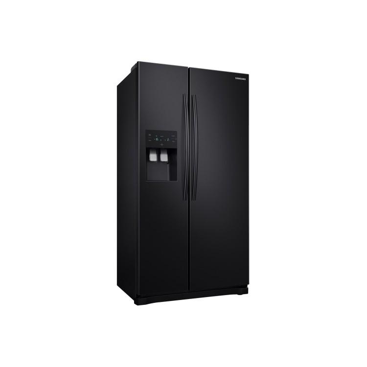 SAMSUNG American Fridge Freezer BLACK | RS50N3413BC