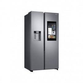 Samsung Family Hub Plumbed American Style Fridge Freezer SILVER | RS68N8941SL
