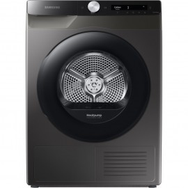 SAMSUNG 8kg Freestanding Heatpump Tumble Dryer INOX   DV80T5220AX