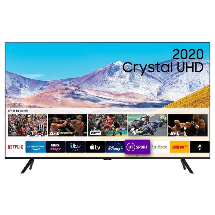 "SAMSUNG 50"" Dynamic Crystal Colour 4K HDR Smart TV   UE50TU8000"