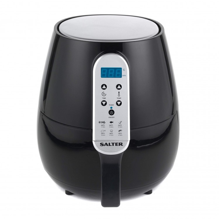 Salter 4.5L 1500W XL Digital Air Fryer BLACK   EK2559