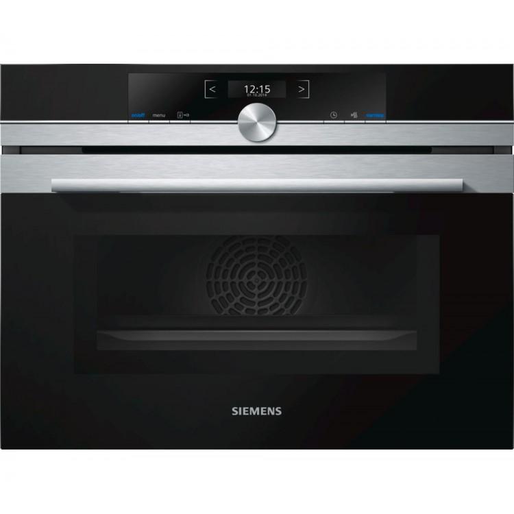 SIEMENS iQ700 Built-in Oven & Microwave function Stainless Steel   CM633GBS1B