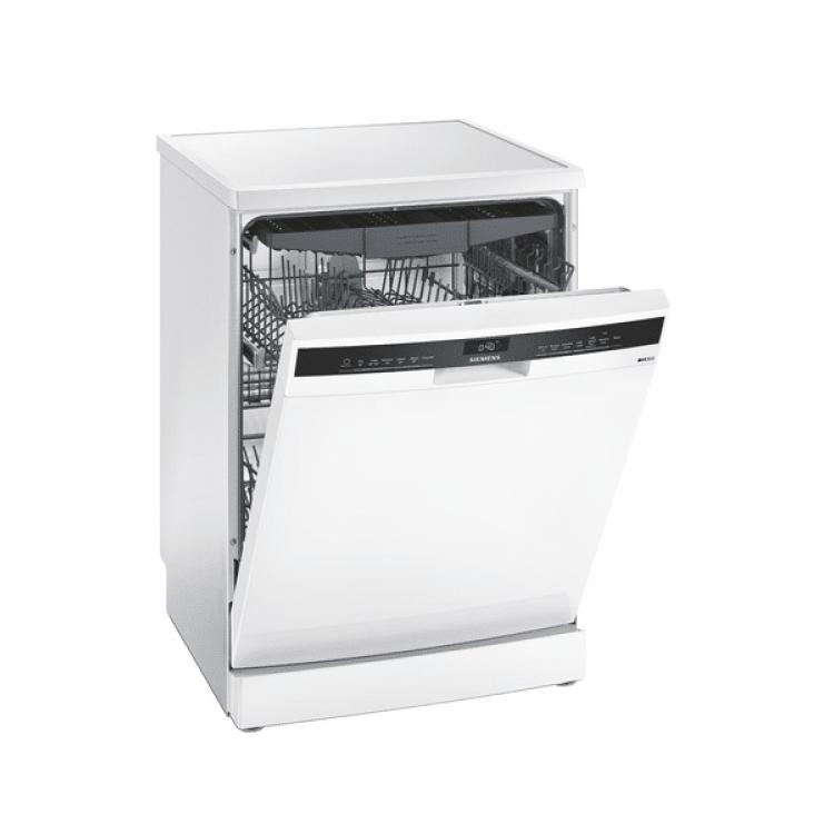 SIEMENS iQ300 Free Standing Dishwasher 60cm WHITE   SN23HW60CG