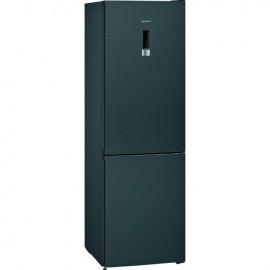 SIEMENS iQ300 Fridge Freezer No Frost BLACK STAINLESS STEEL   KG36NXXDC
