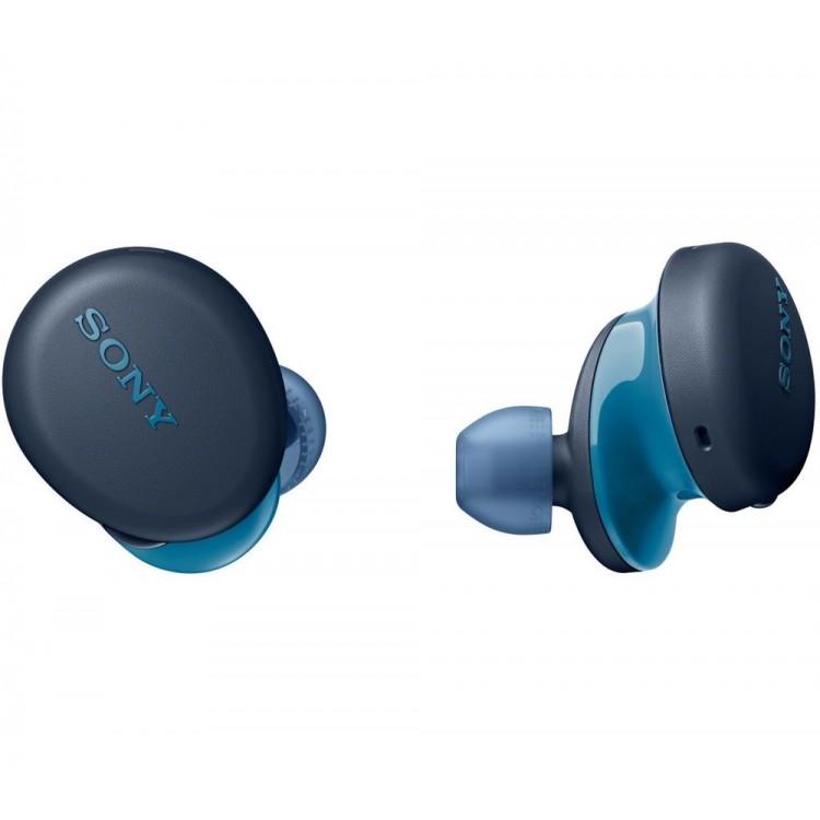 SONY Wireless Bluetooth Earbuds BLUE | WF-XB700