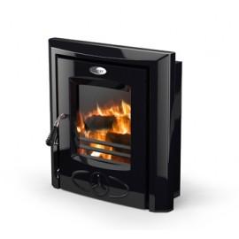 STANLEY CARA 6.5KW Non Boiler Inset Stove BLACK ENAMEL   375758
