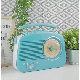 STEEPLETONE Brighton Retro Radio DUCK EGG BLUE   395201