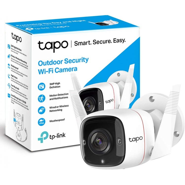 TAPO Smart Wifi Outdoor Security Camera C310 | 401376