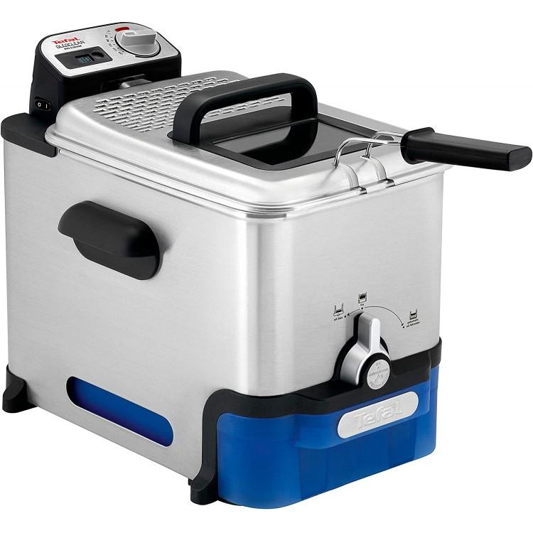 TEFAL Oleoclean Pro Deep Fryer 3.5lt 2300W STAINLESS STEEL | FR8040