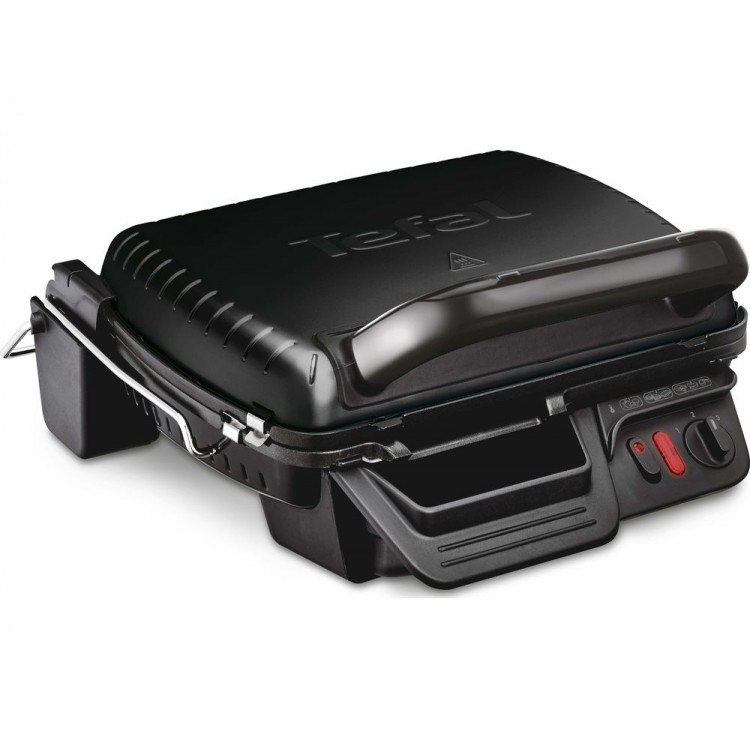 TEFAL Ultracompact 3 in 1 Health Grill with Removable Plates   GC308840