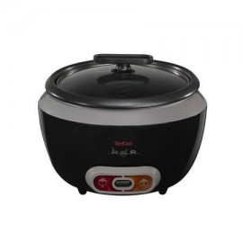 TEFAL 4.8lt Cooltouch Rice Cooker STAINLESS STEEL | RK1568UK