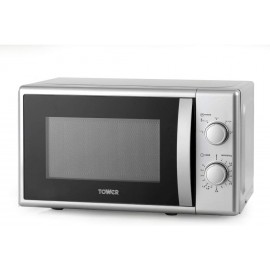 Tower Microwave 20L 700 Watts SILVER | T24034SIL