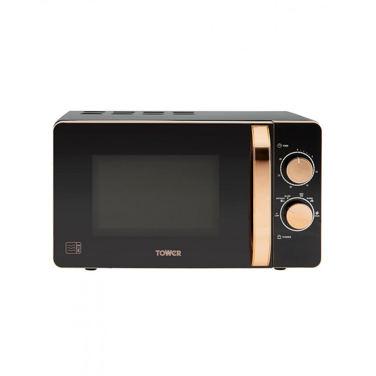 TOWER 800W 20L Microwave ROSE GOLD | T24020