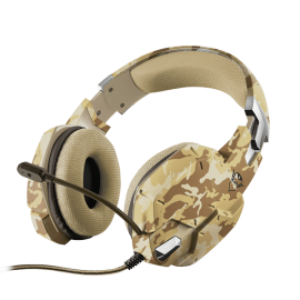 TRUST GXT 322C Carus Gaming Headset JUNGLE CAMO | 382066