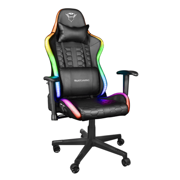 TRUST GXT 716 RIZZA LED RGB GAMING CHAIR | T23845