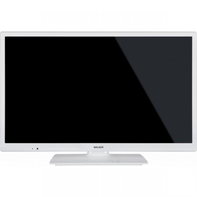 """WALKER 24"""" Smart HD Ready TV WHITE   WPS2421WH"""
