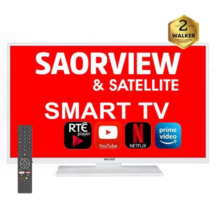 """WALKER 32"""" Smart HD Ready SAT TUN TV   32WPS20PWH"""