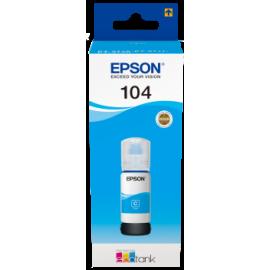 Epson 104 EcoTank Ink Bottle Cyan | T00P240