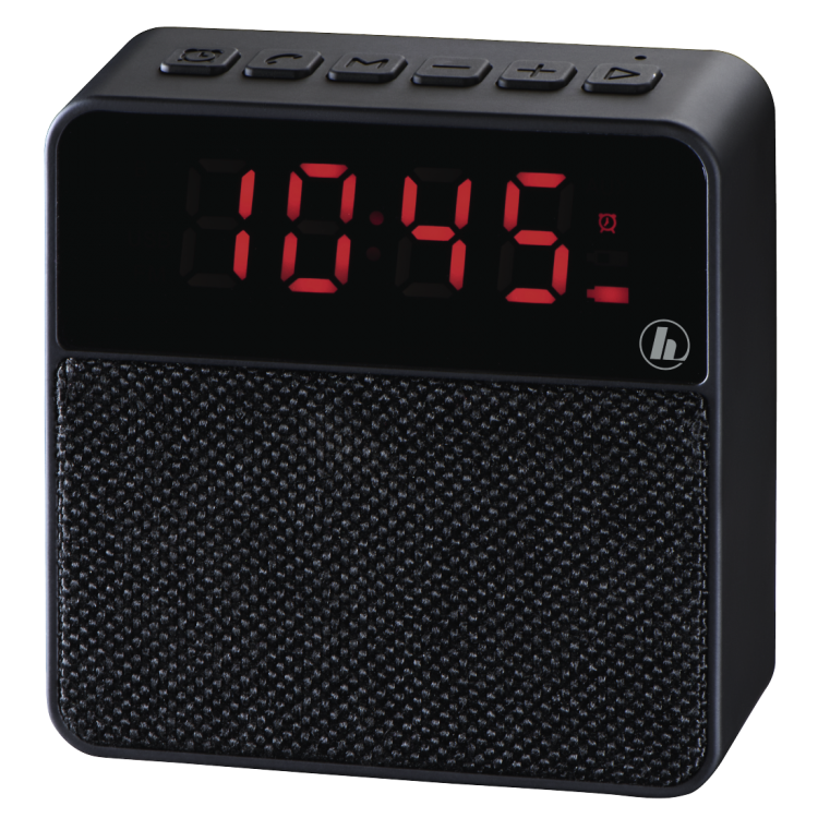 Hama Pocket Clock Mobile Bluetooth® Speaker Black | 00173167