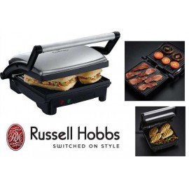 Russell Hobbs 3-IN-1 Panini Maker, Grill & Griddle 17888