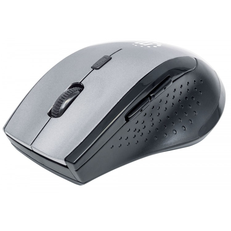 Manhattan Curve Wireless Optical Mouse Grey | 179379