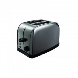 Russell Hobbs Futura Stainless Steel 2 Slice Toaster   18780