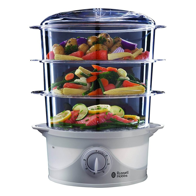 Russell Hobbs 21140 3 Tier Food Steamer