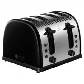 Russell Hobbs Legacy Black 4 Slice Toaster   21303