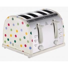 Russell Hobbs Emma Bridgewater Polka Dot 4 Slice Toaster   21305