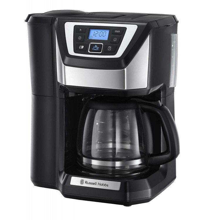 Russell Hobbs 22000 Chester Grind and Brew Coffee Machine - Black