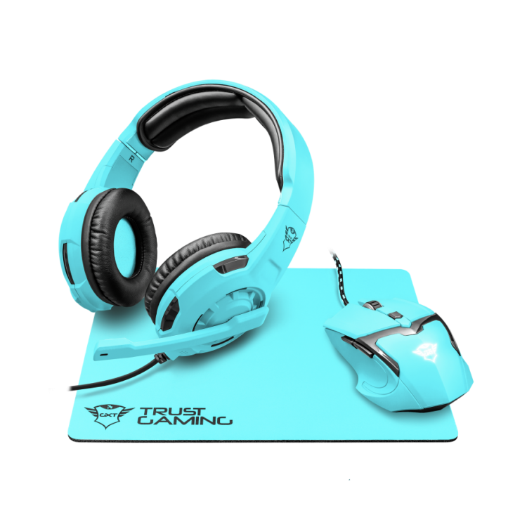 Trust GXT790-SB Spectra Gaming Bundle - Blue | 22467