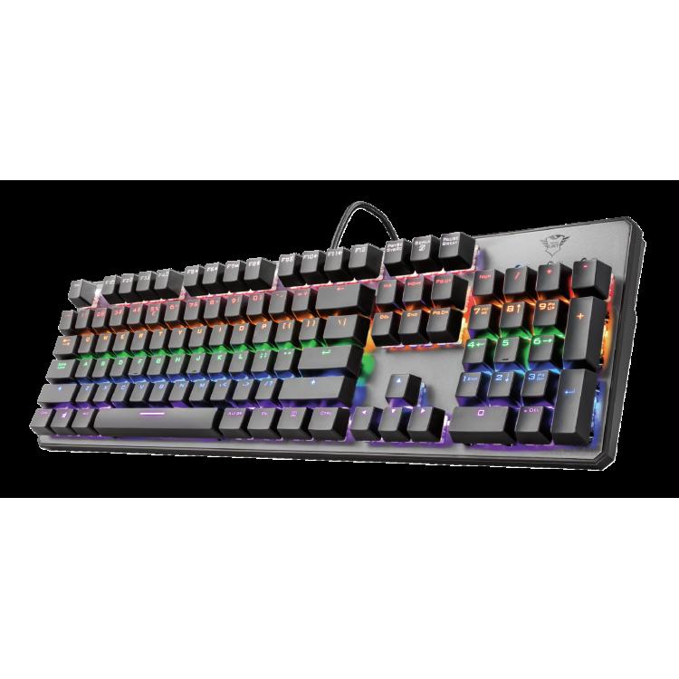 Trust GXT 865 Asta Mechanical Gaming Keyboard | 23067