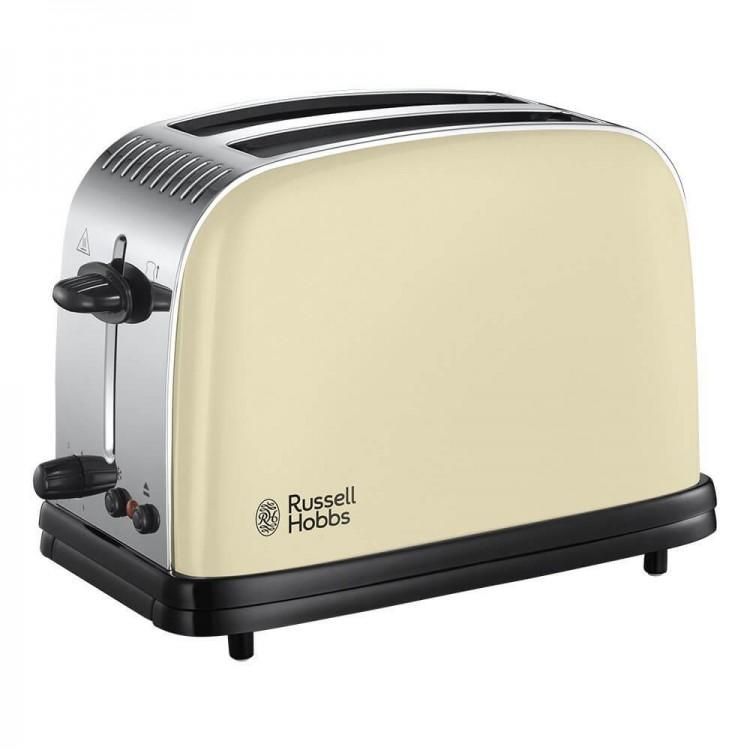 Russell Hobbs Colours Plus Cream 2 Slice Toaster | 23334