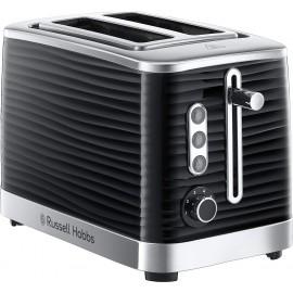 Russell Hobbs Inspire Black 2 Slice Toaster   24371