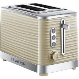 Russell Hobbs Inspire Cream 2 Slice Toaster   24370