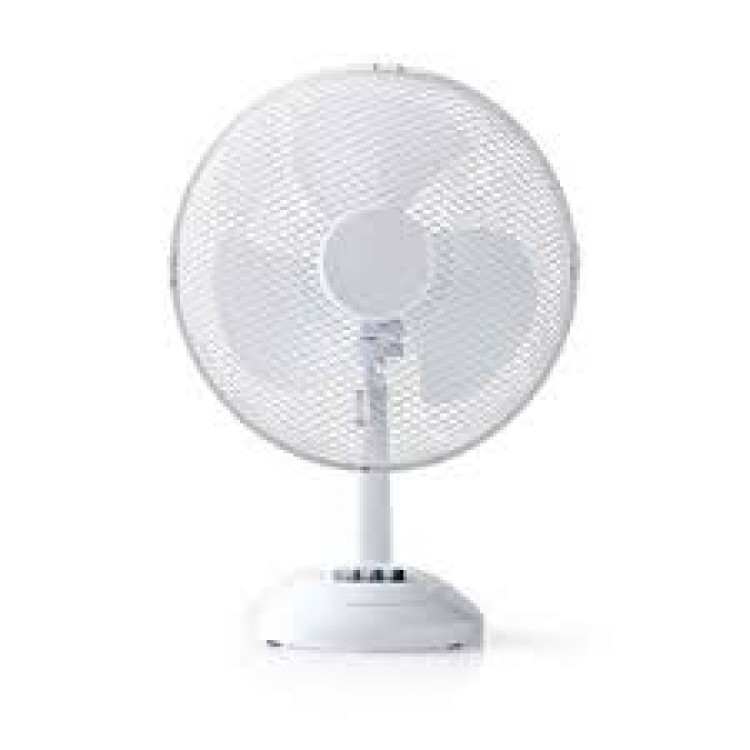 Nedis 261161 Table Fan 16 Inch Diameter | White