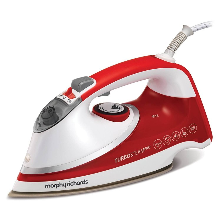 Morphy Richards 303124 Turbosteam Pro Pearl Ceramic Steam Iron