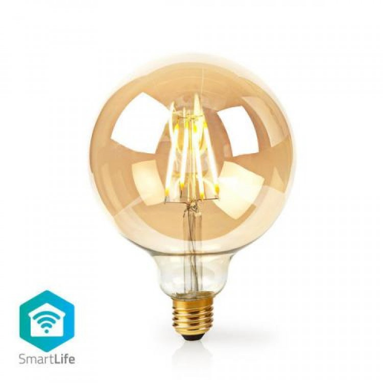 Nedis Wi-Fi Smart LED Filament Bulb E27 125mm 5W 500 lm | 306206