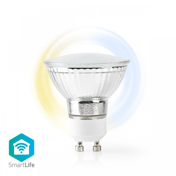 Nedis Wi-Fi Smart LED Bulb Warm to Cool White  GU10 | WIFILW10CRGU10