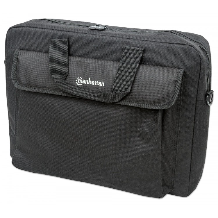 Manhattan London Notebook Computer Briefcase Black | 438889