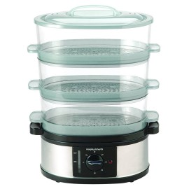 Morphy Richards 3 Tier Stainless Steel Steamer | 48755
