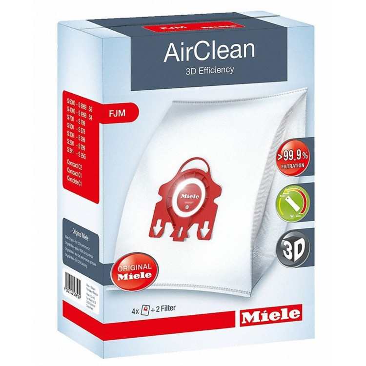 Miele FJM HyClean 3D Efficiency Dustbags - 488485