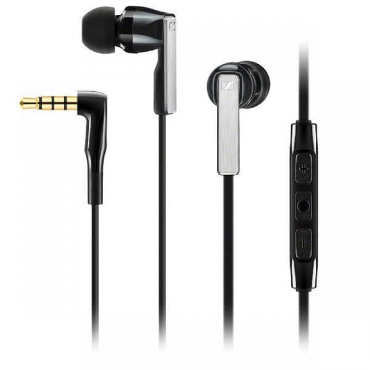 Sennheiser CX 5.00i Earphones (integrated smart remote & mic) Black - 506233