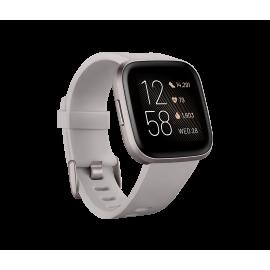 Fitbit Versa 2™ Health and Fitness Smartwatch Stone/Mist Grey Aluminium | 79-FB507GYSR