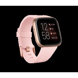 Fitbit Versa 2™ Health and Fitness Smartwatch Petal/Copper Rose Aluminium   79-FB507RGPK