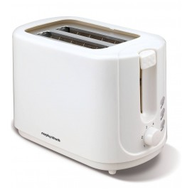 Morphy Richards Essential White 2 Slice Toaster   980505